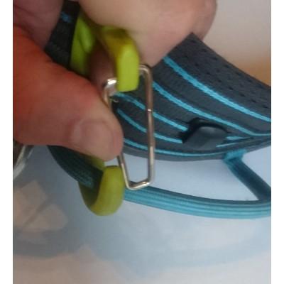 Bild 2 von Manuel zu Edelrid - SM Clip - Eisschraubenkarabiner