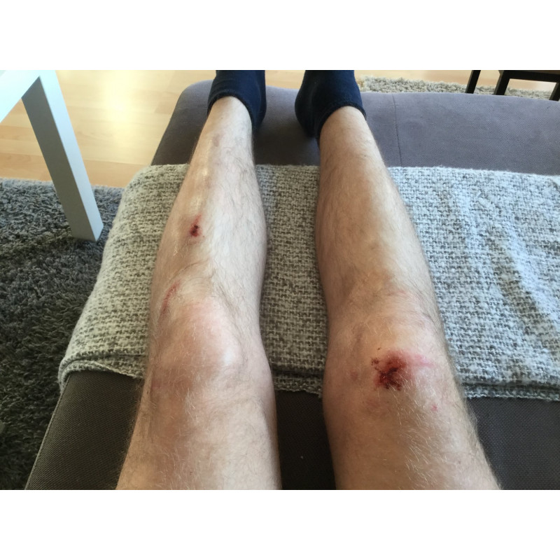 Bild 1 von Sebastian zu O'Neal - Sinner Hybrid Knee Guard - Protektor
